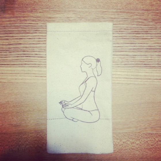 Meditation iphone cover