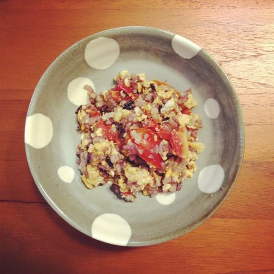 蕃茄五穀燉飯