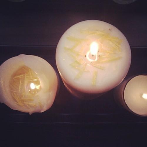天然香氛柚蠟燭