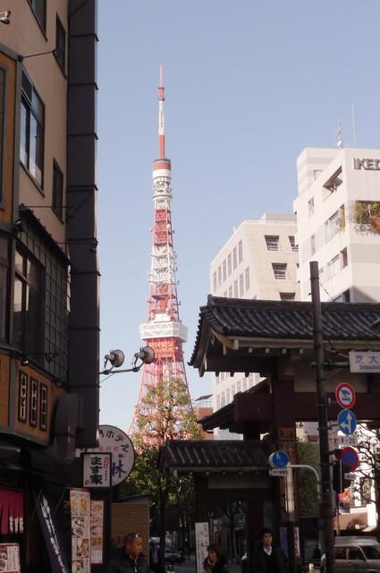 東京。東京タワー