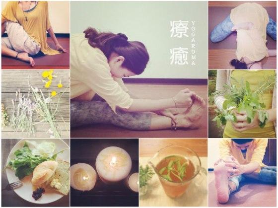 節氣。香氛療癒瑜伽