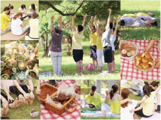 春日野餐瑜伽